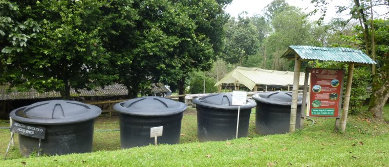 Test facility for AD of coffee wastewater at Cenicafe, Colombia - Iemke Bisschops, LeAF.jpg